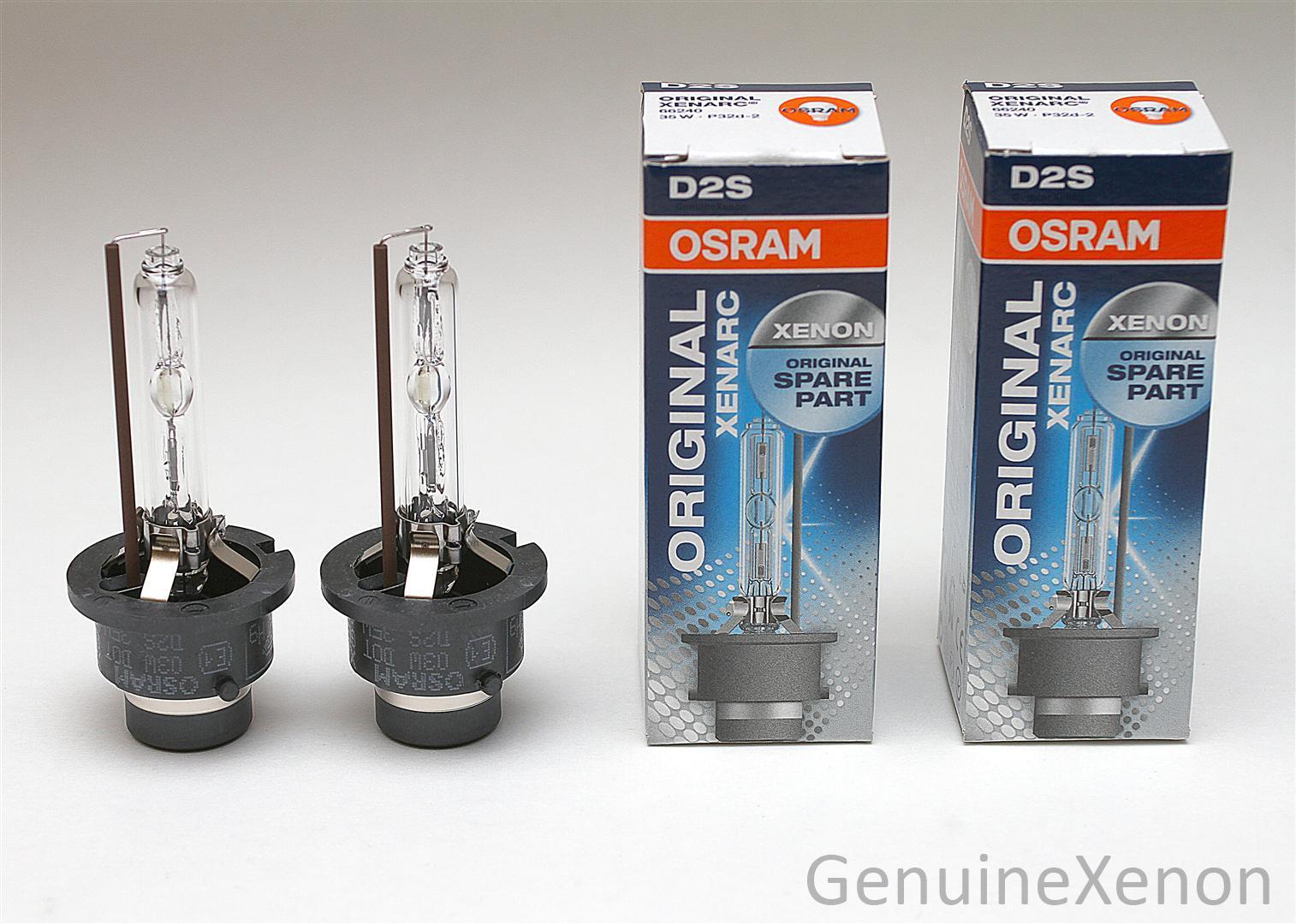 osram 2x lampen set osram xenarc xenon 66240 35w d2s. Black Bedroom Furniture Sets. Home Design Ideas