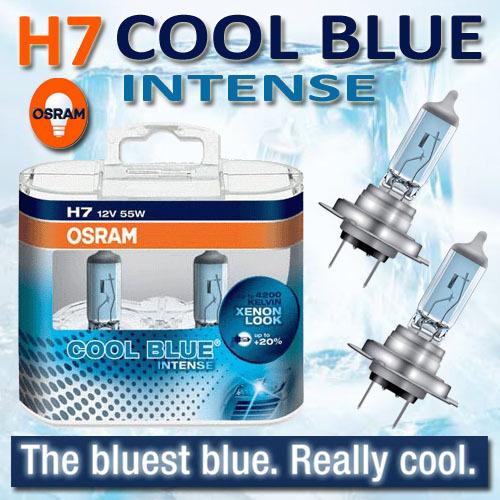 Osram verlichting : Osram Cool Blue Intense H7